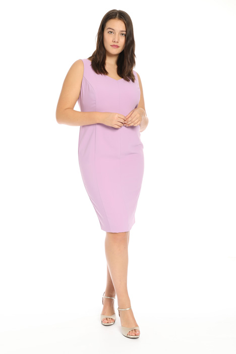Sheath dress in crepe Intrend