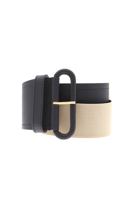 Large leather belt Intrend
