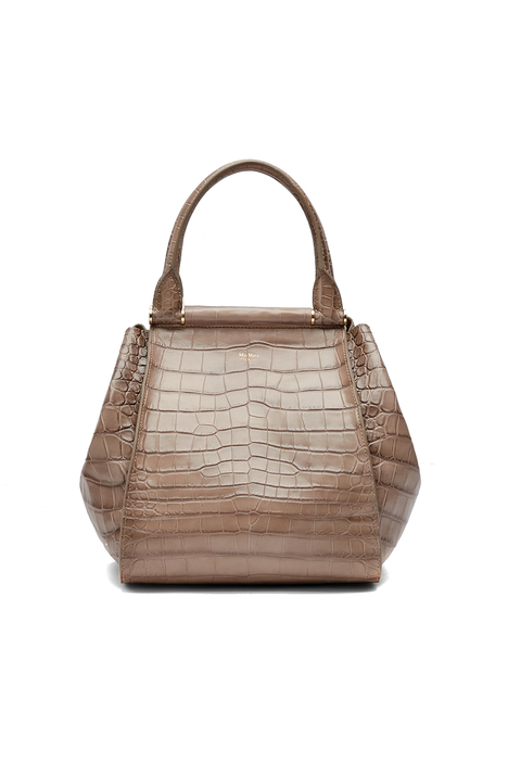 Crocodile print shopper Intrend