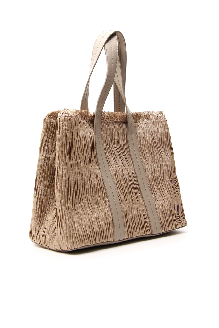 Double handle shopping bag Intrend