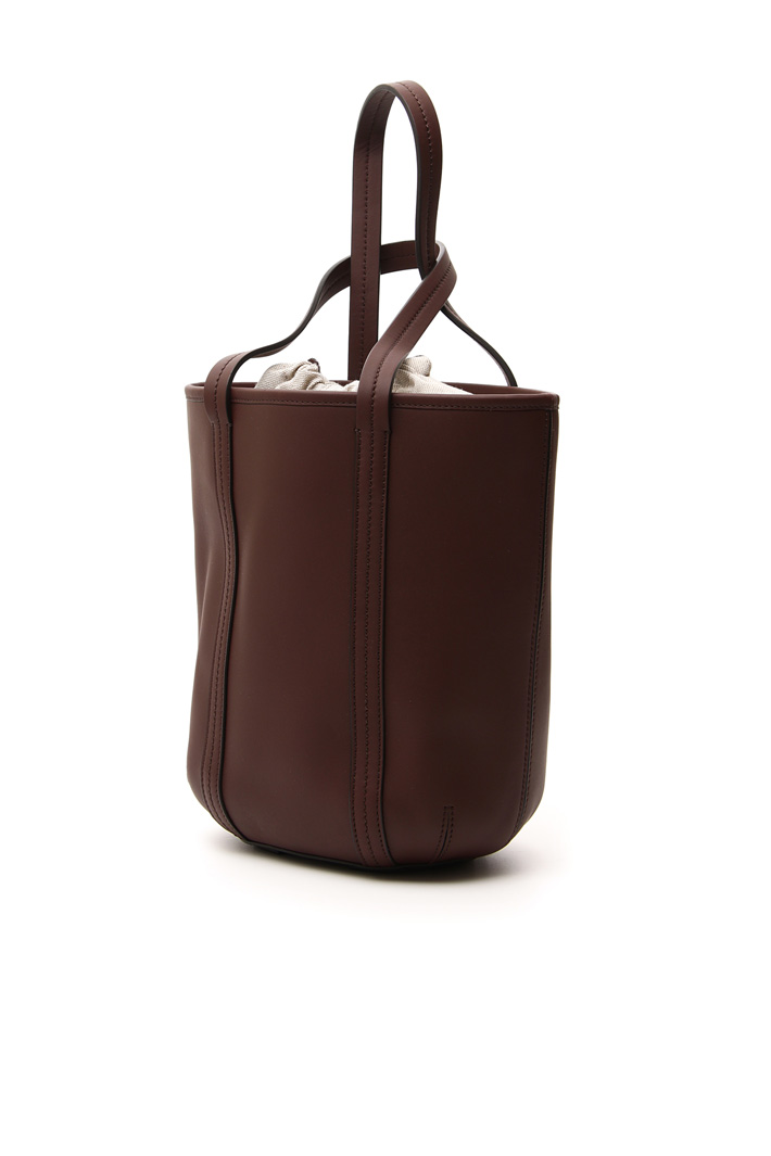 Pure leather bucket bag Intrend
