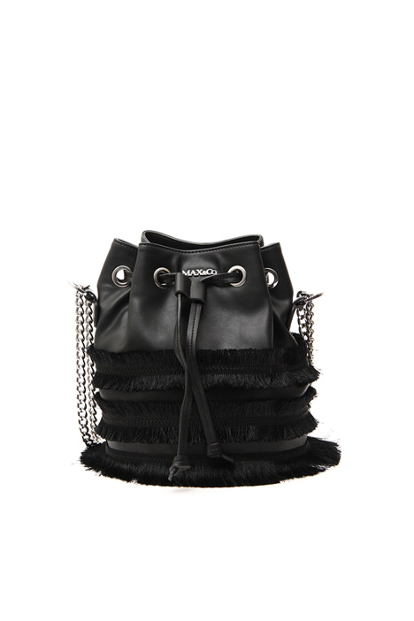 Fringed bucket bag Intrend