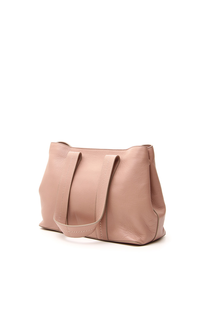 Coated effect shopping bag Intrend