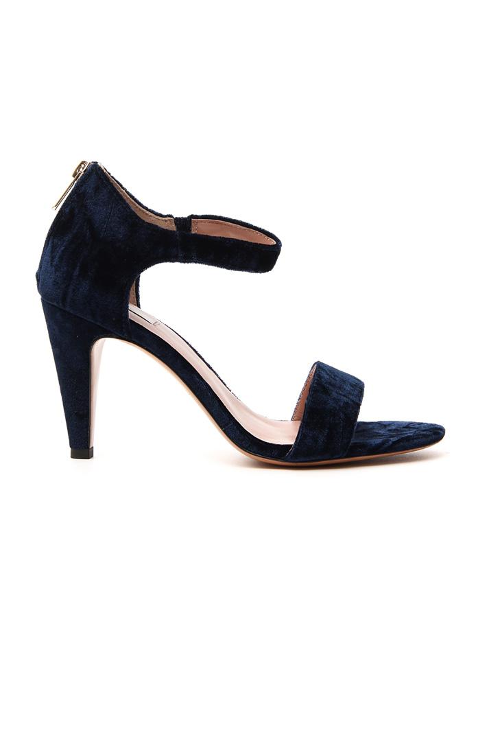 Velvet sandal Intrend