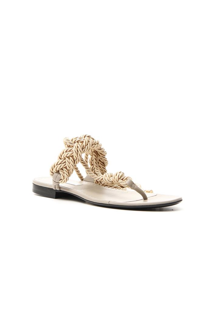 Braided rope sandal   Intrend