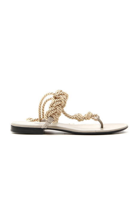 Braided rope sandal    Intrend
