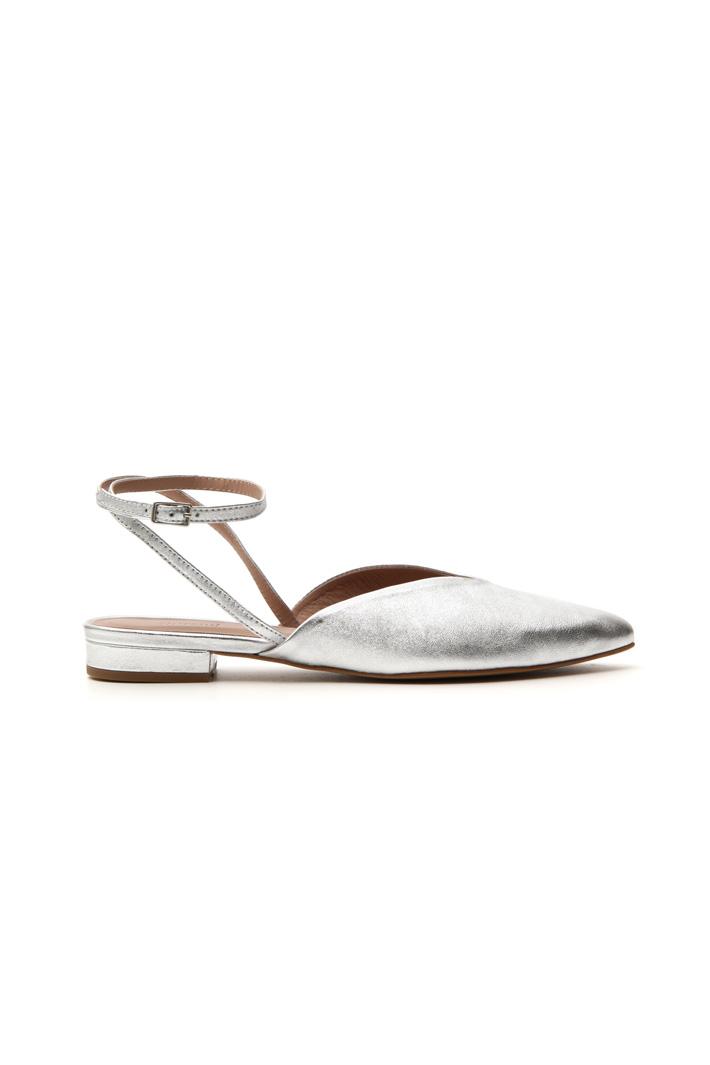 Metallic sabot shoes Intrend