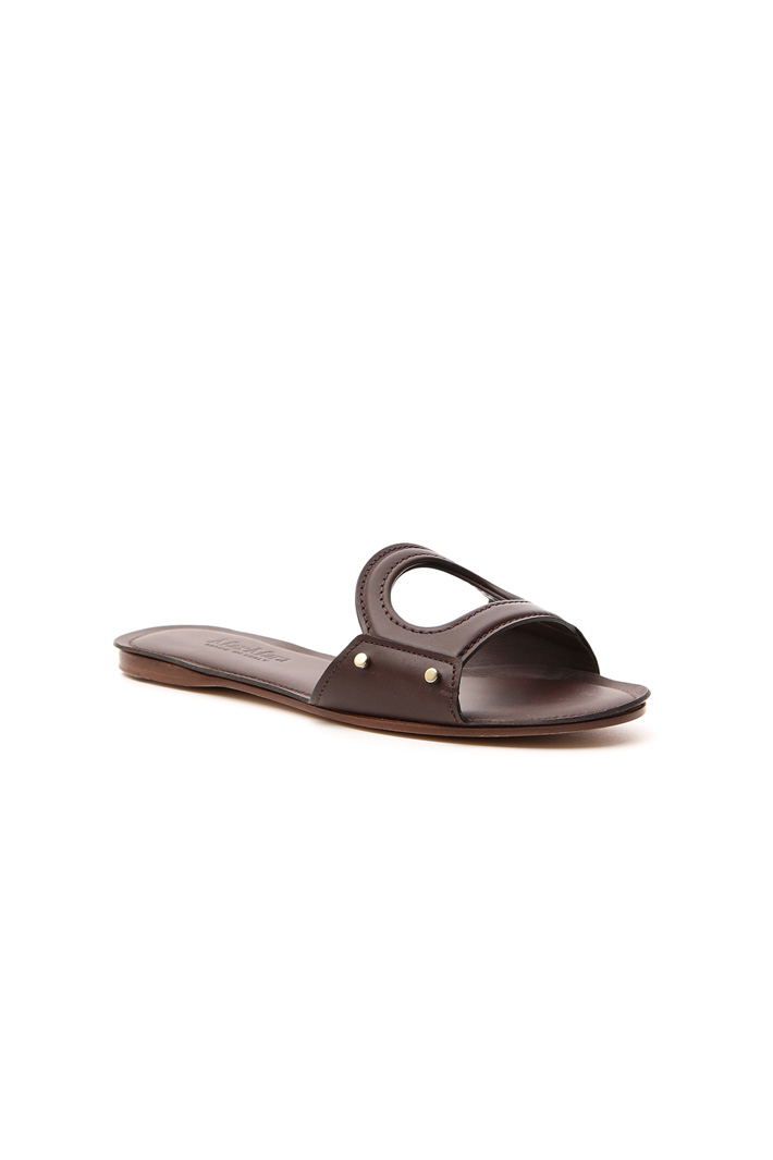 Pure leather slipper Intrend