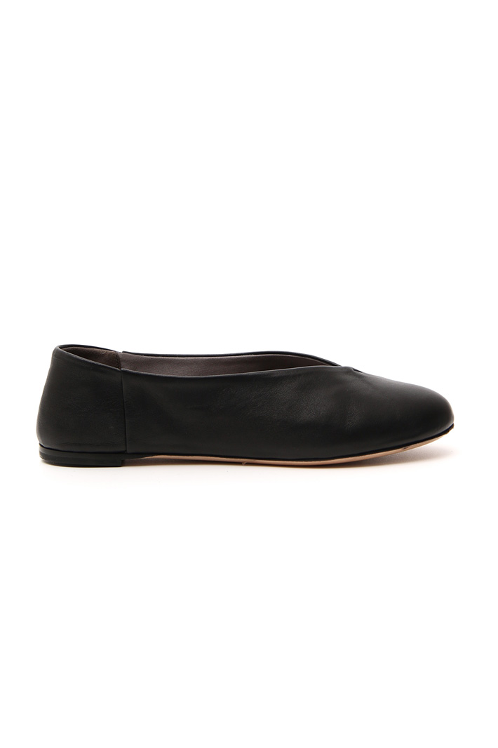 Soft leather ballerina   Intrend