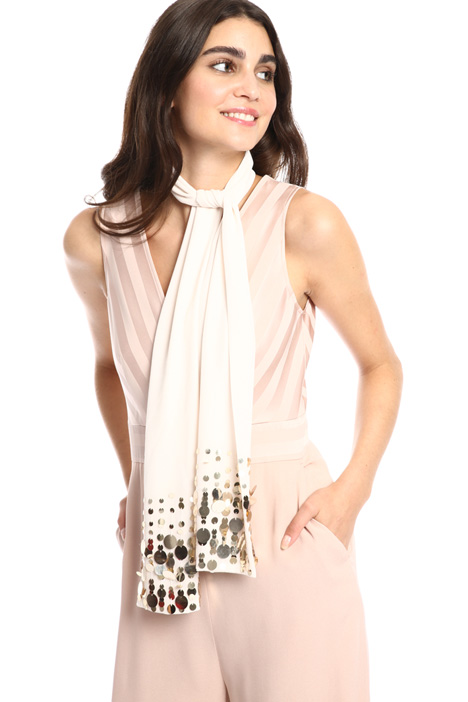 Sequin foulard Intrend