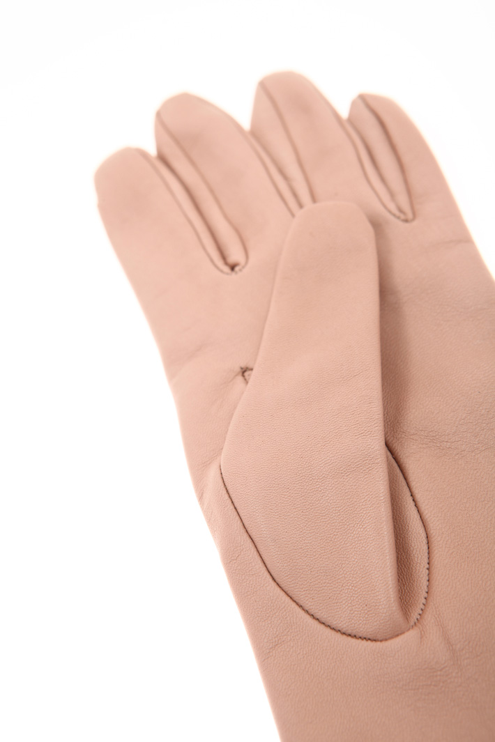 Long nappa leather gloves Intrend