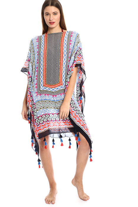 Caftan with tassels. Intrend