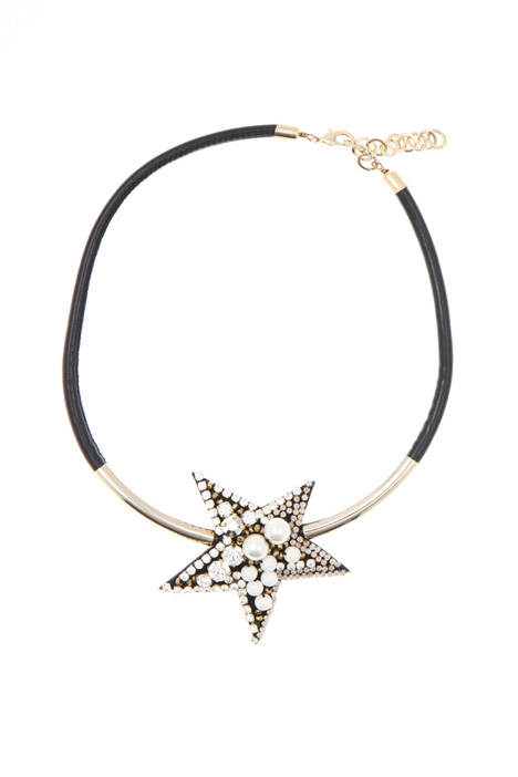 Necklace with maxi star Intrend