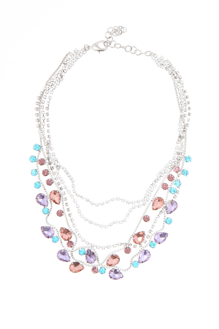 Multi-strand chain necklace    Intrend