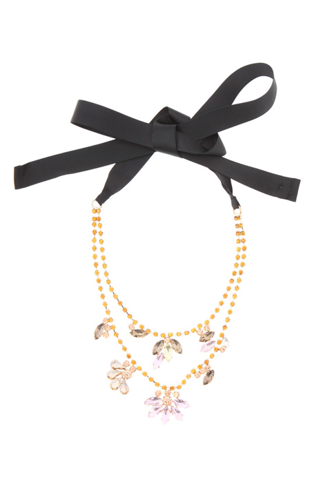 Necklace with ribbon    Intrend