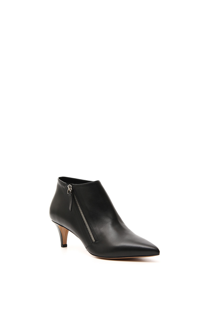 Leather ankle boot    Intrend