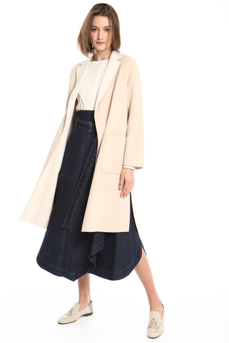Reversible wool coat Intrend