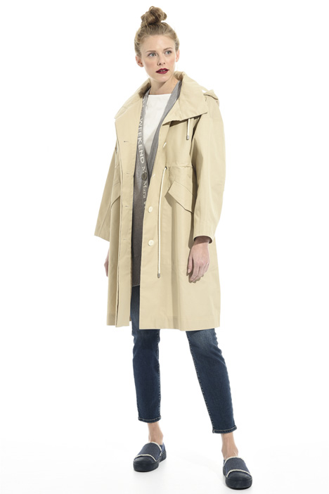 Cotton gabardine parka Intrend