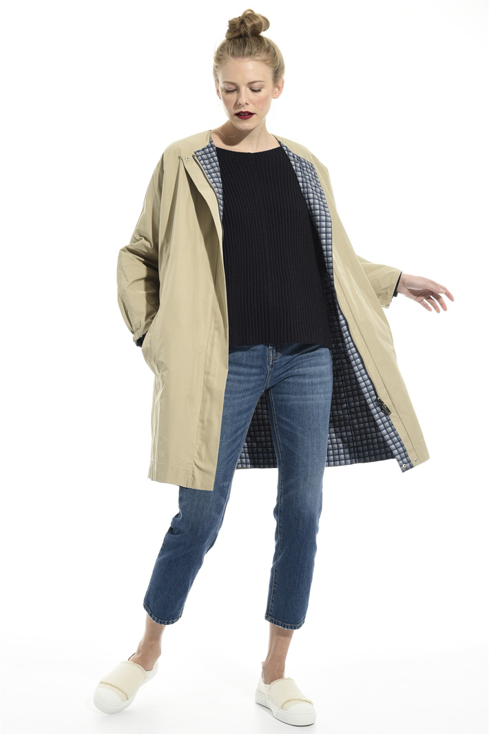 Waterproof twill trench Intrend