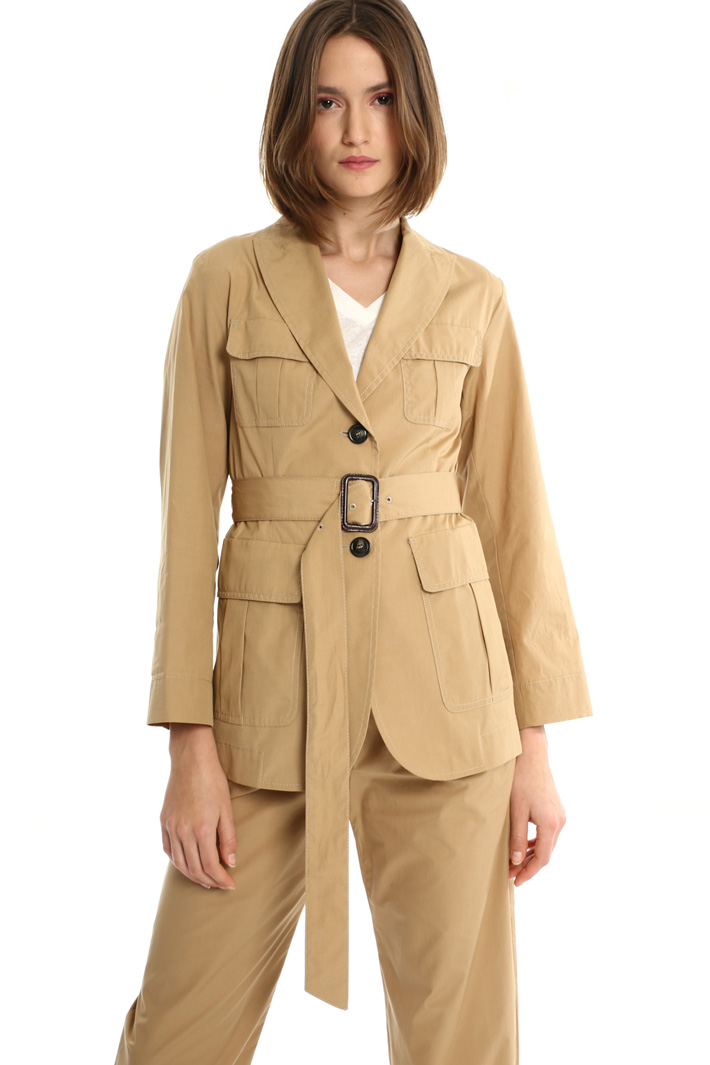 Cotton safari jacket Intrend