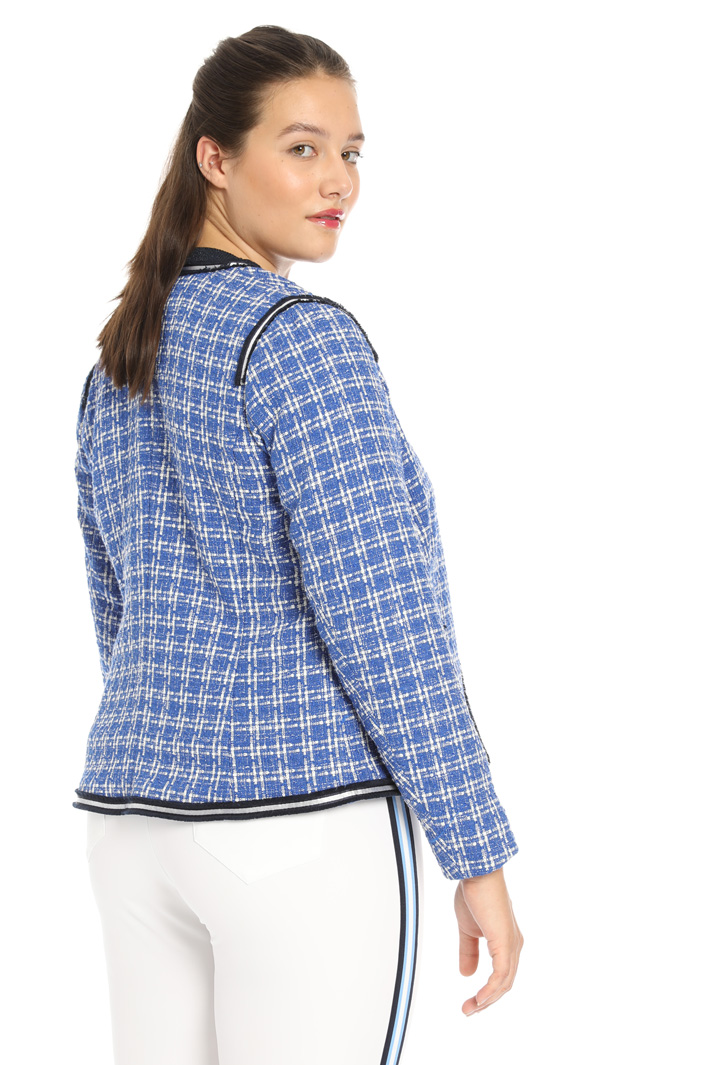 Checked jacket Intrend