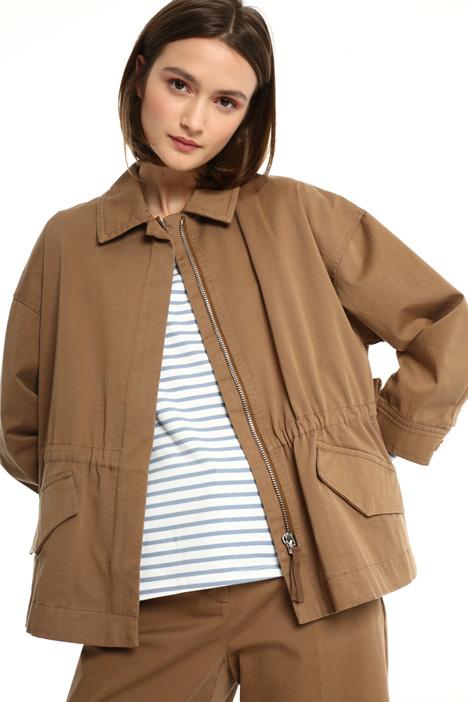 Cotton twill jacket Intrend
