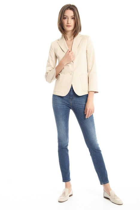 Two-button cotton blazer Intrend