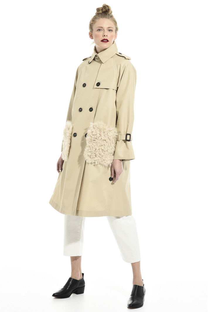 Trench with matching vest Intrend