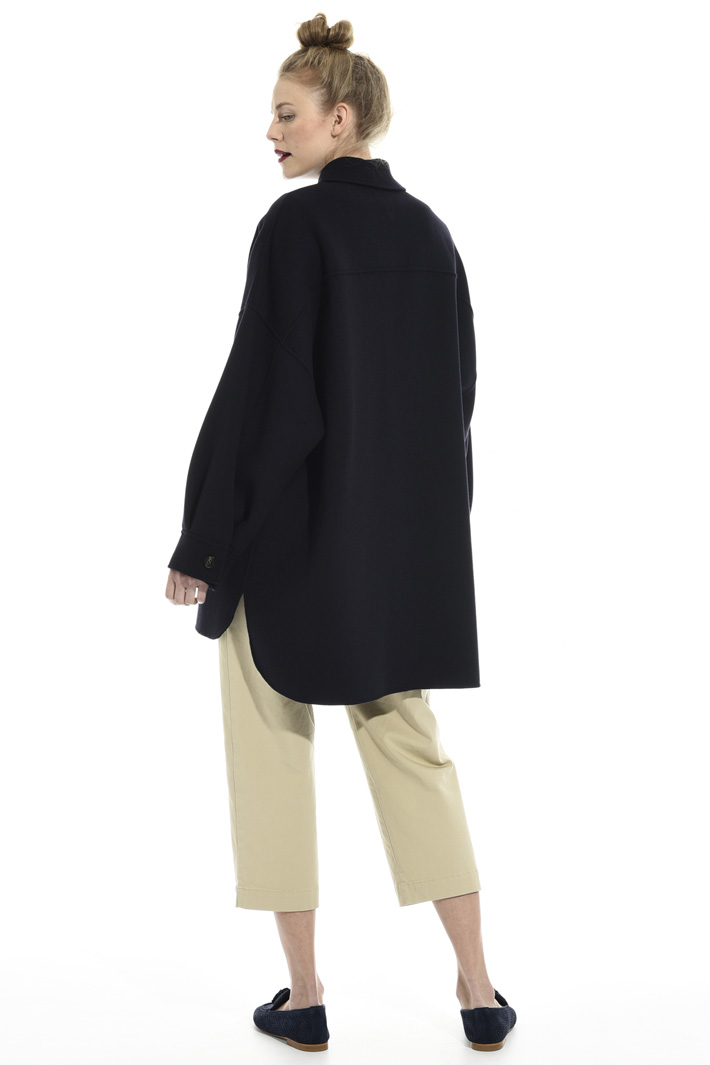 Oversized pure wool coat Intrend