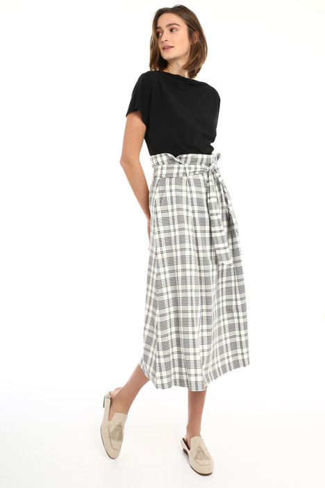 High waist wool skirt Intrend