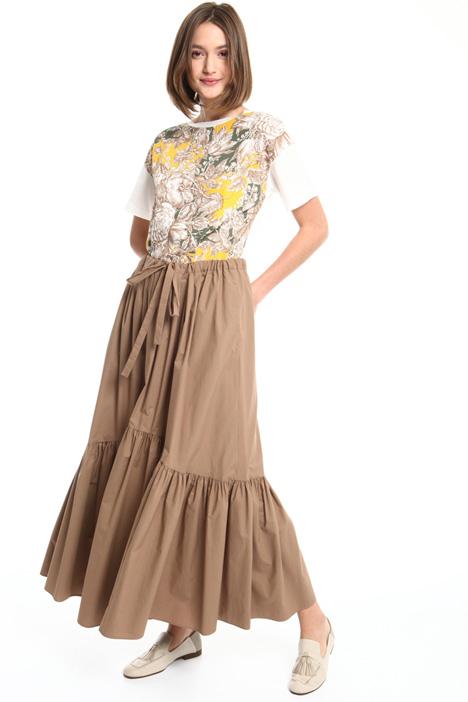 Long flounced skirt Intrend