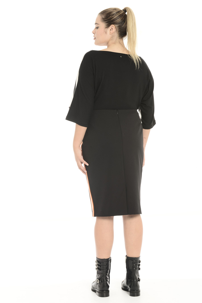 Gabardine sheath skirt Intrend