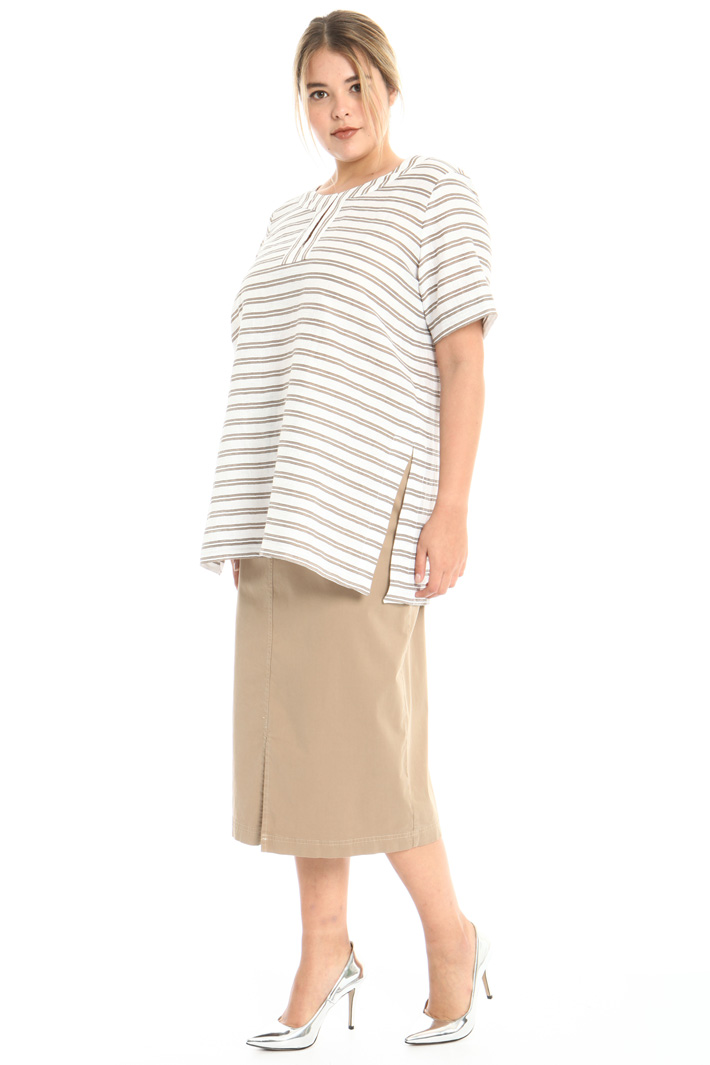 Pure cotton sheath skirt Intrend