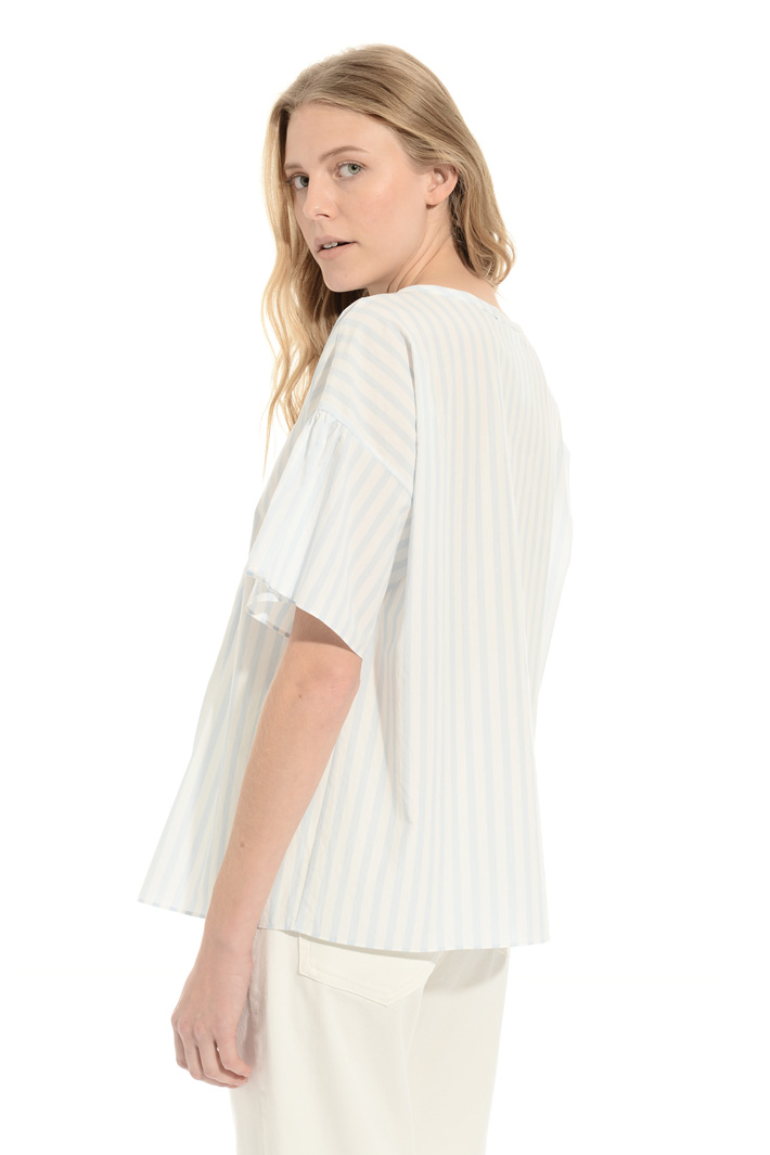 Boxy cotton blouse Intrend