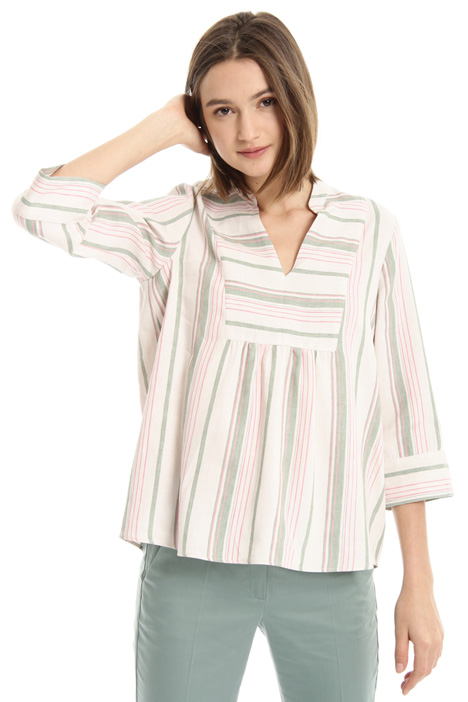 Linen and cotton blouse Intrend