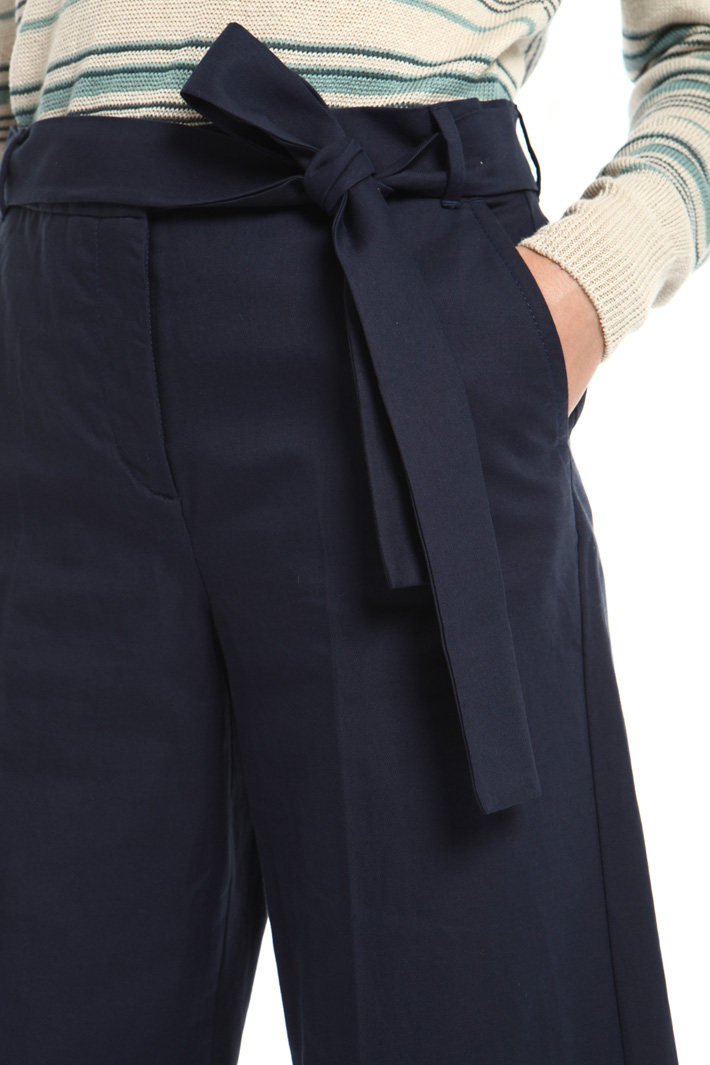 Crop palazzo trousers Intrend