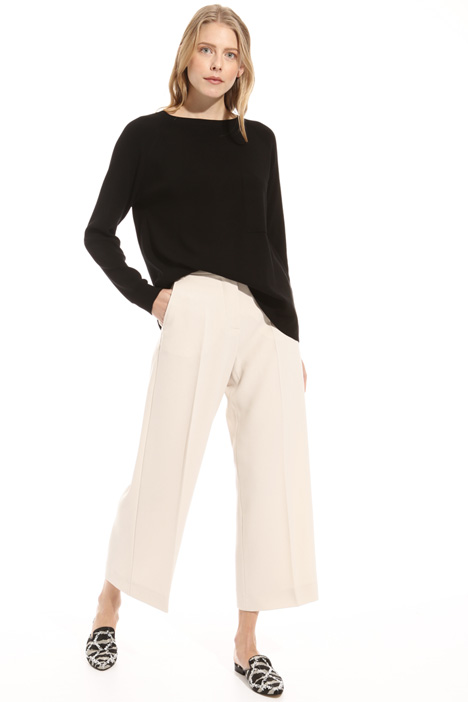 Crop high waisted trousers Intrend