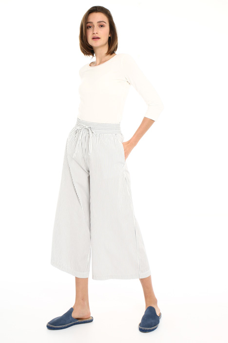 Loose fit cotton trousers Intrend