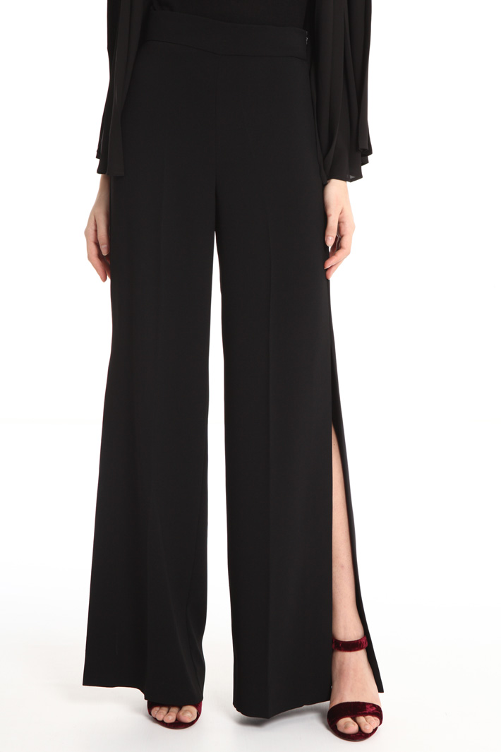 Slit trousers Intrend