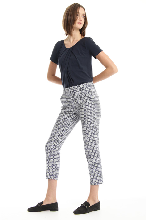 Cropped zip trousers Intrend