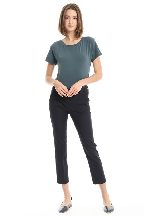 Back welt pocket trousers Intrend