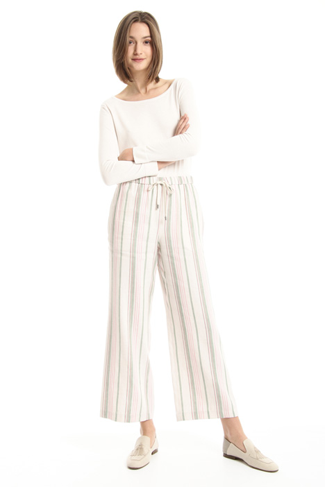 Linen blend trousers Intrend