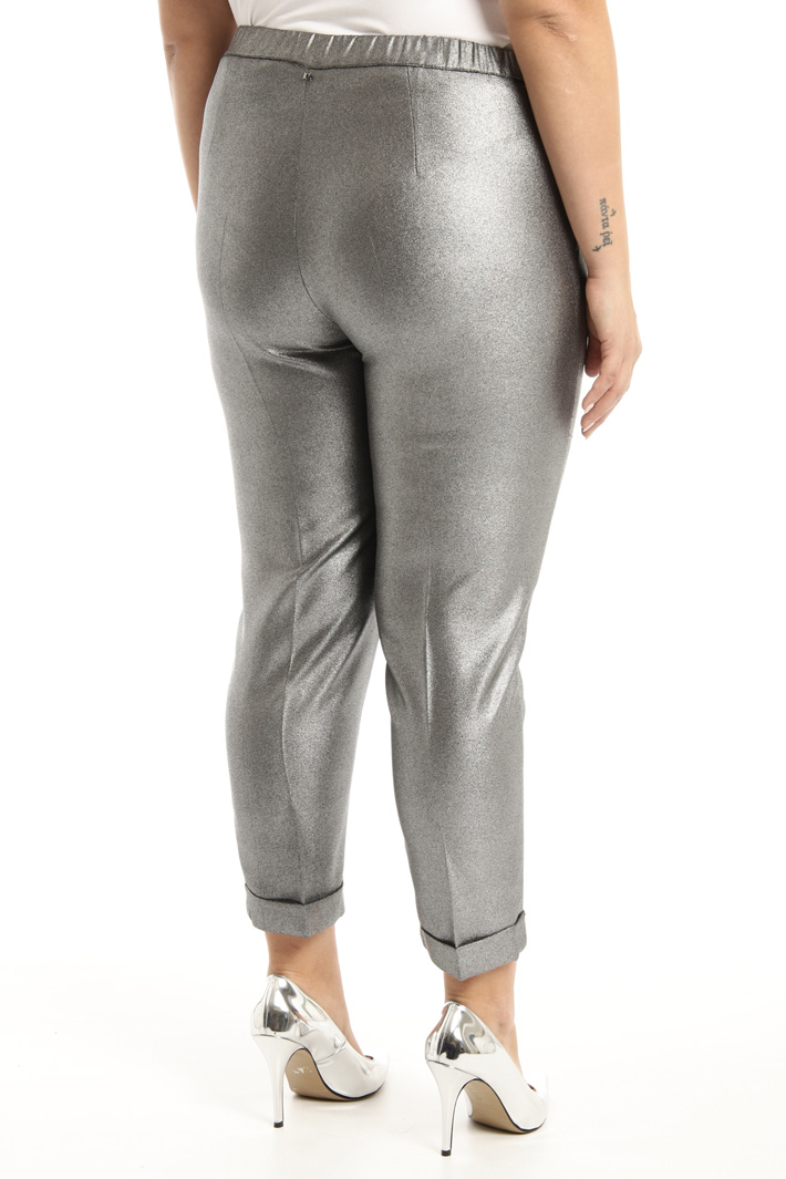 Laminated trousers Intrend