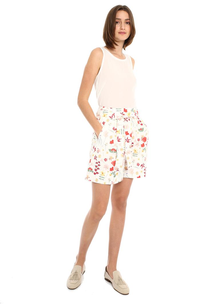 Shorts in popeline di cotone Intrend