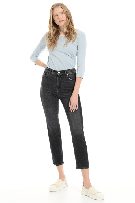 Cropped cigarette jeans Intrend
