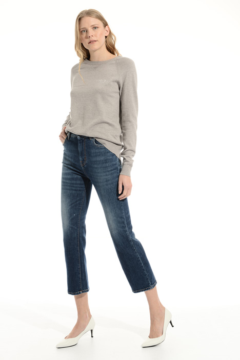 Crop flared leg jeans Intrend