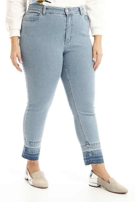 Skinny denim trousers Intrend