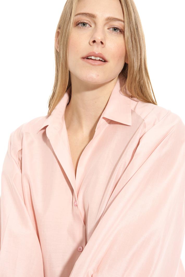 Camicia in cotone e seta Intrend