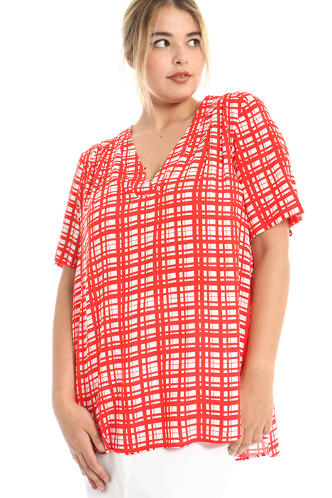 Printed viscose tunic Intrend