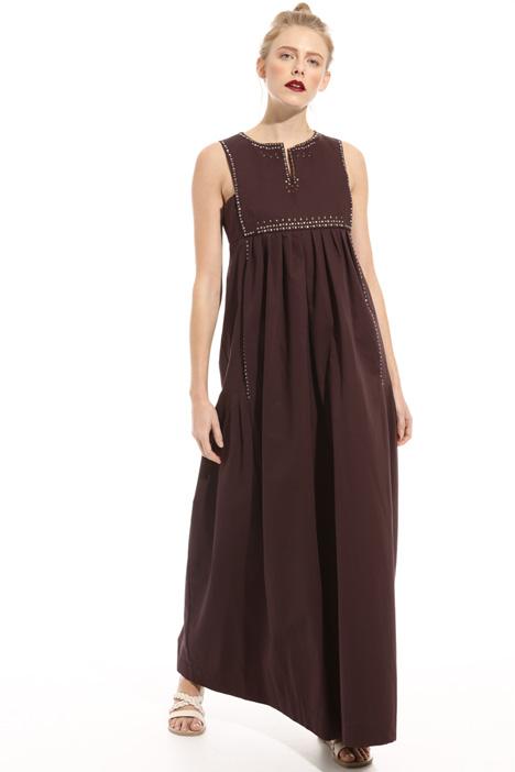 Sleeveless pure cotton dress Intrend